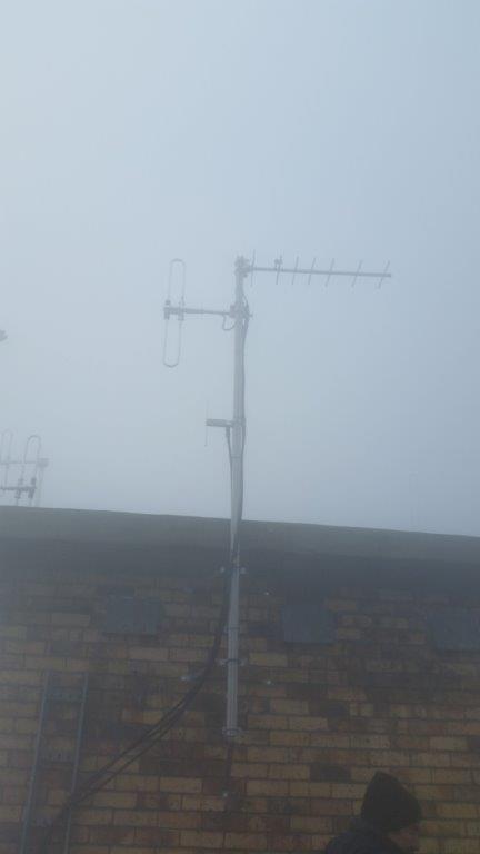 Antennas after install